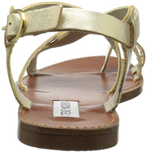 Sandalo Agathist Da Donna Steve Madden In Pelle Color Oro