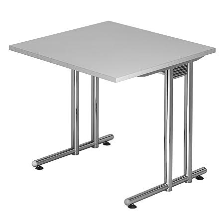 Dr de oficina escritorio 80 x 80 cm - Altura 72 Cm, estructura en ...