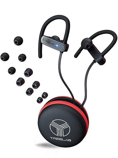 TREBLAB XR800 Mejores audífonos Bluetooth inalámbricos para deportes, correr o el gimnasio. Mejor modelo
