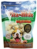 Loving Pets Vita-Hide Heart Healthy Formula With Chicken Dog Treat, 2-3-Inches, 18/Pack