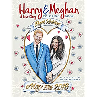 Harry and Meghan: A Love Story Coloring Book
