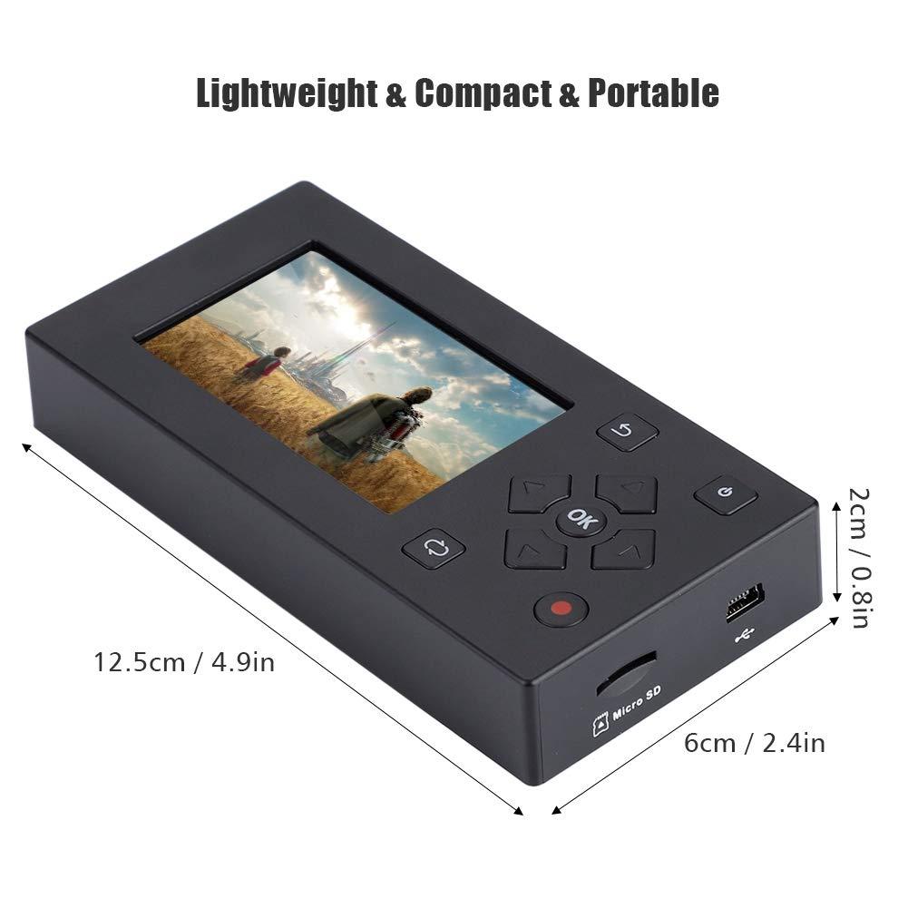 BTIHCEUOT AV Recorder mit 3TFT Screen Audio und Video Converter f/ür Video Capture Recording Player