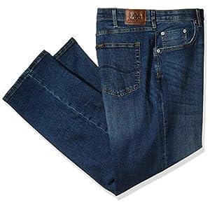 LEE Men's Big-Tall  Custom-fit Relaxed Straight-Leg Jean