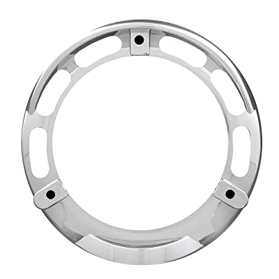 GG Grand General 68217 Clear Plastic Rim with Visor For 4 Inch 3 Screws Turn Light: Automotive