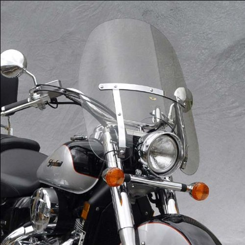 National Cycle Wide Frame - National Cycle N2301 Dakota 4.5 Windshield for Narrow Frame Suzuki Cruisers