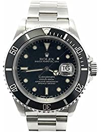 Submariner swiss-automatic mens Watch 16610 (Certified Pre-owned)