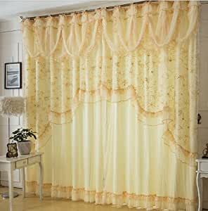 amazon curtains living room fadfay home textile custom made curtains 11904