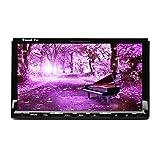 HD 7'' Touch Screen Universal Double Din Car Radio GPS Navigation 2Din Car stereo 7 inch Car DVD Player Bluetooth USD SD Headunit Universal Head Unit In-Dash