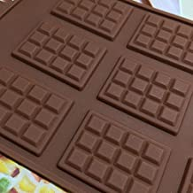 12-Cavity Silicone Chocolate Bar Cake Sugarcraft Sugar Soap Baking Mould Mold BB