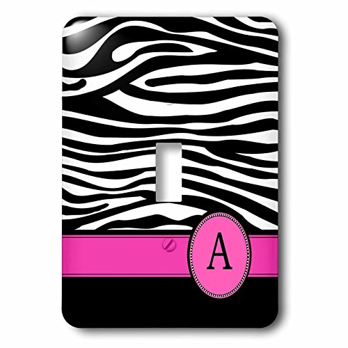 3dRose LLC lsp_154272_1 Letter A Monogrammed on Black for sale  Delivered anywhere in USA