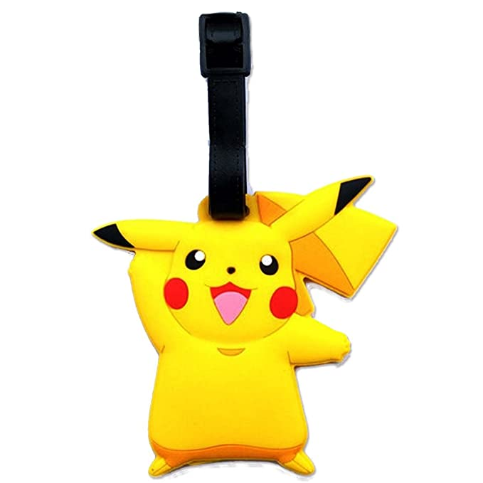 Amazon.com: Pokemon Pikachu Diseñado PVC Embossed Equipaje ...