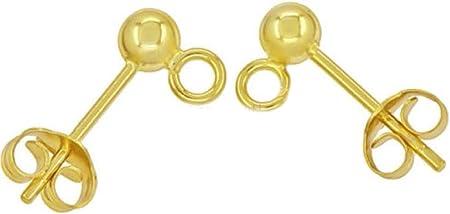 20pcs Stainless Steel Ear Studs Earring Backs with hollow Post for Earrings Make