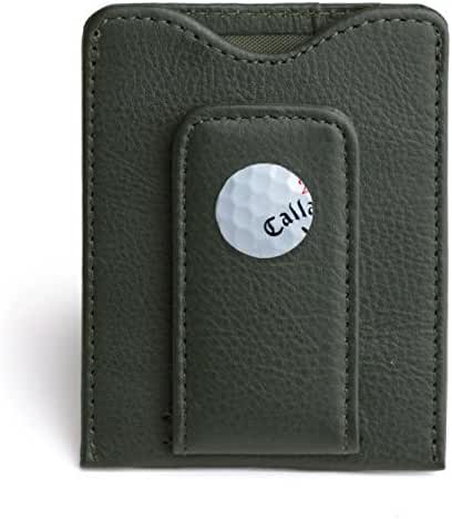 Tokens and Icons TPC Sawgrass Magnetic Money Clip Leather Wallet (80SG-P)