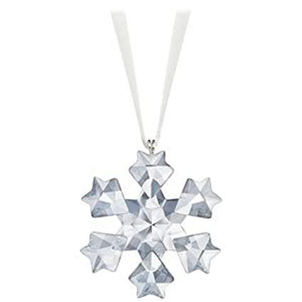 Image Unavailable - Amazon.com: Swarovski Crystal 2010 Annual Little Snowflake Ornament