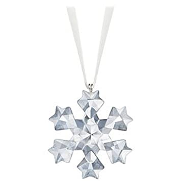 Swarovski Crystal 2010 Annual Little Snowflake Ornament - Amazon.com: Swarovski Crystal 2010 Annual Little Snowflake Ornament