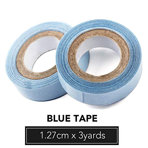 Replacement Double Sided Water Proof Invisible Extensions Blue