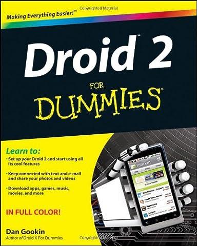 Droid 2 For Dummies (Motorola Pocket Pc)