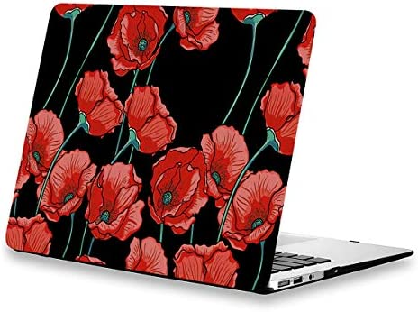 MacBook Flowers Rubberized Soft Touch Protective