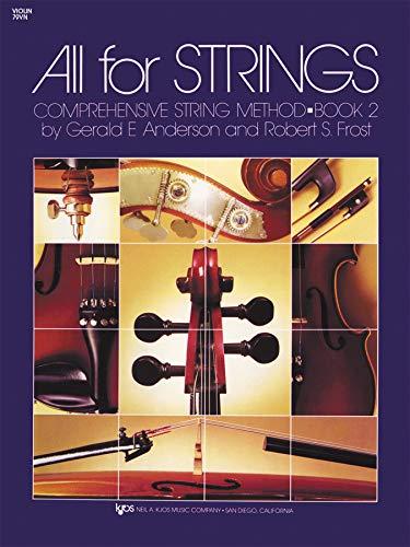 Book 2 Violin - 79VN - All for Strings Book 2 - Violin