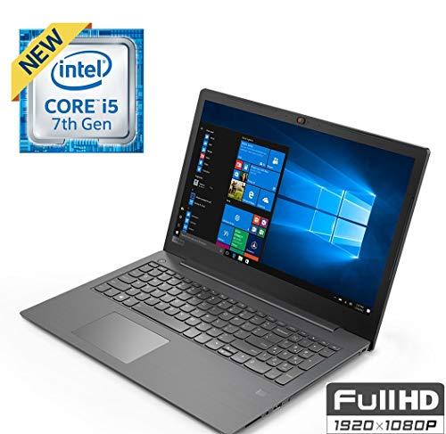 "Lenovo Business 15.6"" FHD (1920x1080) 180° Hinge Display Laptop PC, Intel i5-7200U 2.5Ghz Processor, Backlit Keyboard, Bluetooth, Fingerprint Reader, DVD-RW, Windows 10 Pro, Choose Your RAM SSD HDD ()"