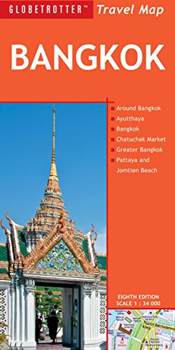 Bangkok Travel Map, 8th (Globetrotter Travel Map) - Globetrotter Travel Map
