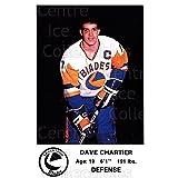 Dave Chartier Hockey Card 1983-84 Saskatoon Blades #10 Dave Chartier