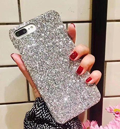 watch 95a8a 73abb iPhone 7 Plus Glitter Case,iPhone 7 Plus Diamond Case,Luxury Glitter  Sparkle Bling Diamond Designer Shining Fashion Style Slim Phone Case For  iPhone 7 ...