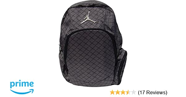 eef440b1e5e315 Amazon.com  Nike Jordan Graphite Backpack Laptop Sleeve Protection Audio  Pocket  Sports   Outdoors
