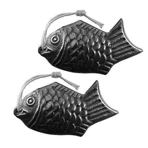 Lisol's Mind Cooking Tool to Add Safe Iron to Food, 2 Pack Iron Fish - A Natural Source of Iron, An Iron Supplement Alternative, Suitable For Vegans, Athletes, Pregnant Women