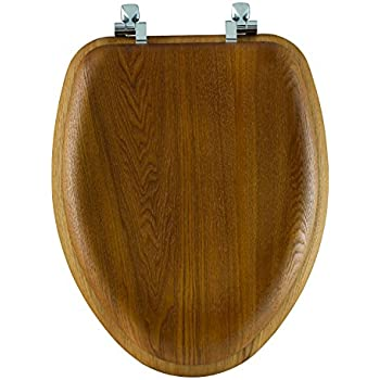 Comfort Seats C1b1e 17ch Designer Solid Wood Toilet Seat