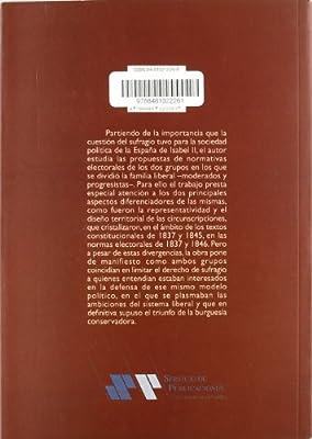 El significado político de la legislación electoral en la España de Isabel II Historia: Amazon.es: Estrada Sánchez, Manuel: Libros