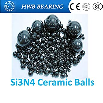 5//32 Inch Si3N4 Silicon Nitride Ceramic Ball Bearings G5-5 Balls