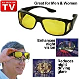 HD Night Vision Wraparounds Wrap Around Glasses by TVTimedirect