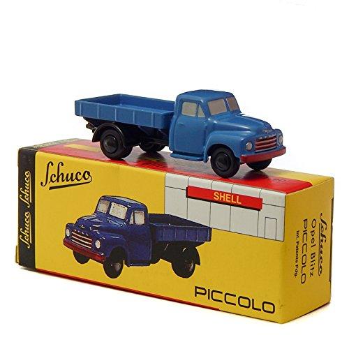 Schuco Opel Blitz Flatbed Truck 1:90 Piccolo