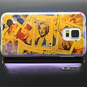 ZX Samsung S5 I9600 compatible Special Design TPU Back Cover