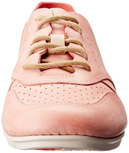 coral Naranja Para Tri Actor Zapatillas Leather Mujer Clarks RXOBYq1ww