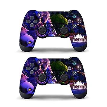 Calcomanía Etiqueta Pegatina para Sony PS4 Playstation 4 Mando Controlador,2 Piezas de Piel