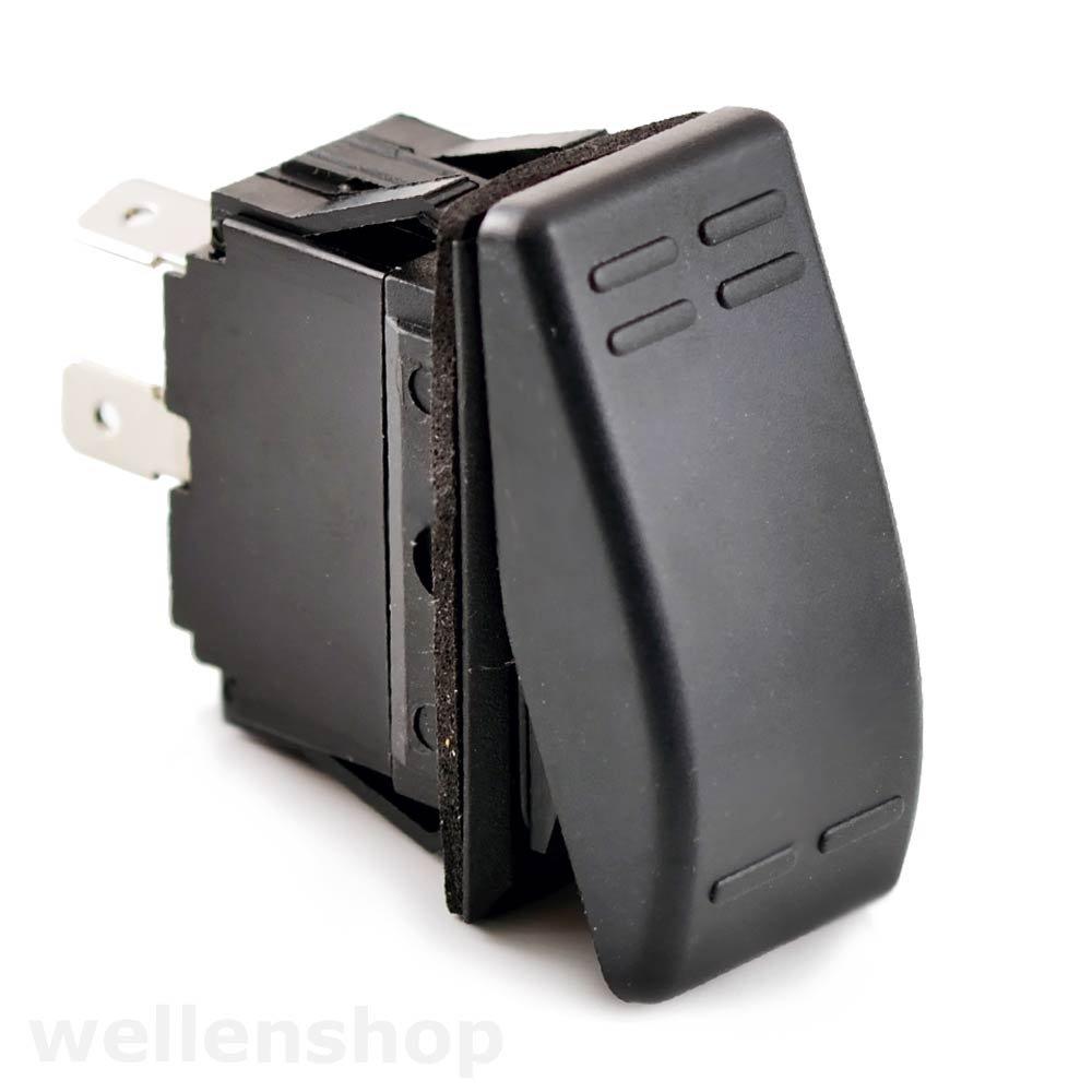 wellenshop 12V Taster Schalter on-Off 4 Pol 16A