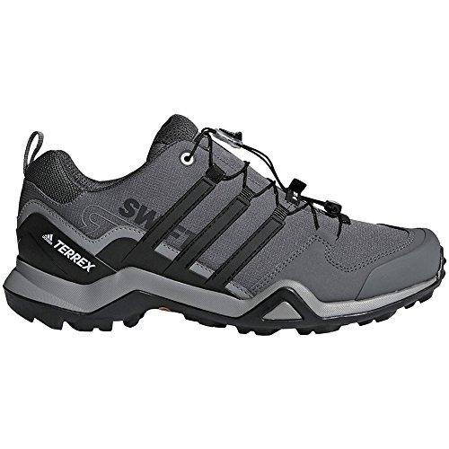 adidas outdoor Terrex Swift R2 Hiking Shoe - Men's Grey Three/Black/Grey Five