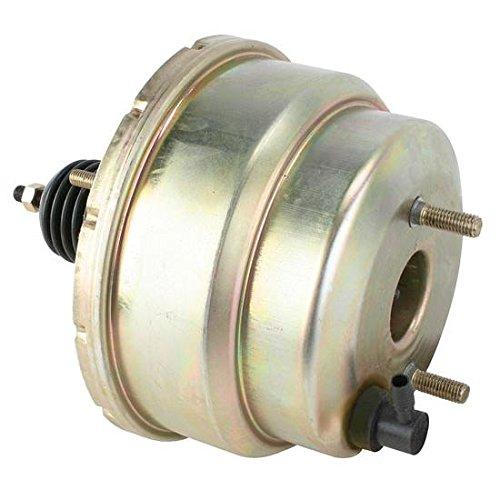 Dual Diaphragm Power Brake Booster Chromate Finish 7 Inch