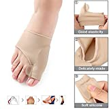 Bunions Corrector - Bunions Relief Protector - Toe Separators, Treat Pain in Hallux Valgus, Hammer Toe Spacers Straightener Splint Aid Surgery Treatment