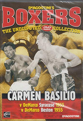 Boxer Carmen Basilio (Carmen Basilio - DeAgostini's Boxers)