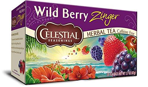 Celestial Seasoning Teas (Wild Berry Zinger Tea)