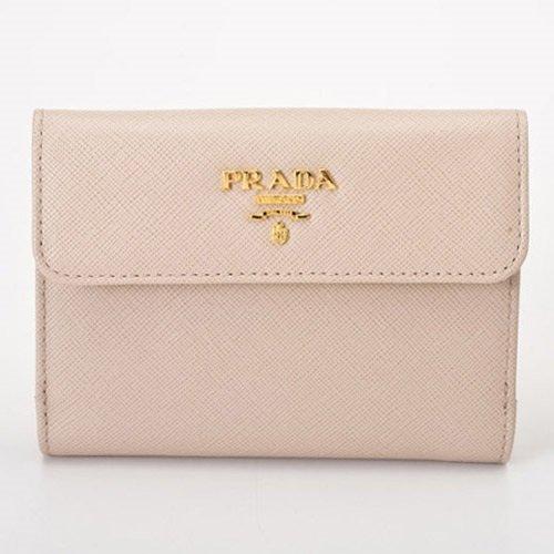 プラダ レザー 財布(ホック式小銭入れ付き) 1M0523