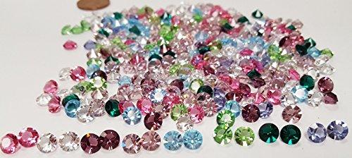 39e755484 50 Pieces Swarovski Crystal Article 1088 Xirius Chaton SS29 Round 6mm.  Rhinestone