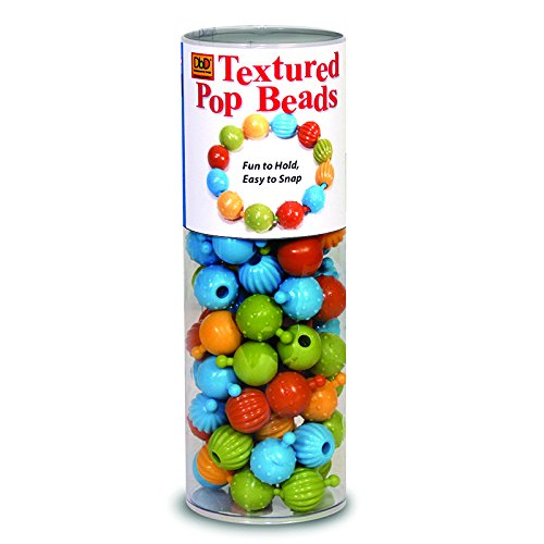 THE PENCIL GRIP TEXTURED POP BEADS 100 CT TUBE (Set of 6)