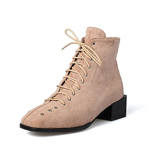 Pink Resistant Womens Fashion Slip Suede Boots BalaMasa Comfort ABL10433 f8qtdqF