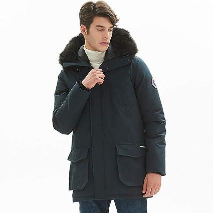 Amazon.com: PUREMSX - Chaqueta de invierno para hombre, muy ...
