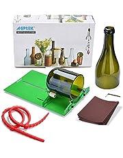 AGPTEK Bottle Cutter Glasschneider Kit Glasflasche Cutter DIY Weinflaschen und Bierflaschen Schneidwerkzeug zur Flaschen Pflanzmaschinen, Flaschen Lampen, Kerzenständer für runde Flasche