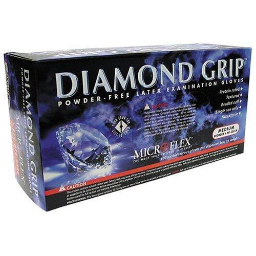 Microflex Mf 300 M Medium Diamond Gloves
